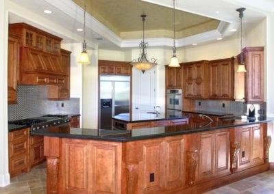 Villa Centinale kitchen